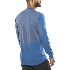 Norrøna Falketind Super Wool Shirt Men Denimite Blue